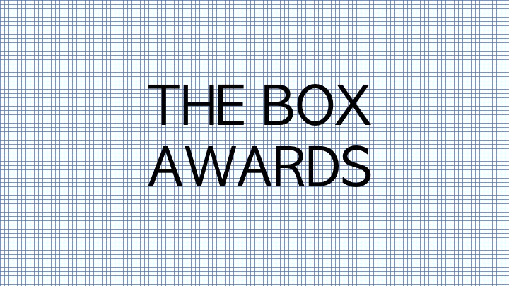 The Box Awards – click here to view our most popular products yet!