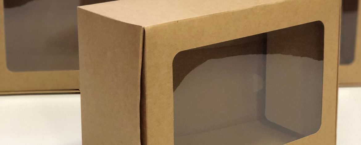 🎁 Meet our new box; The Kraft Box with Window 🎁