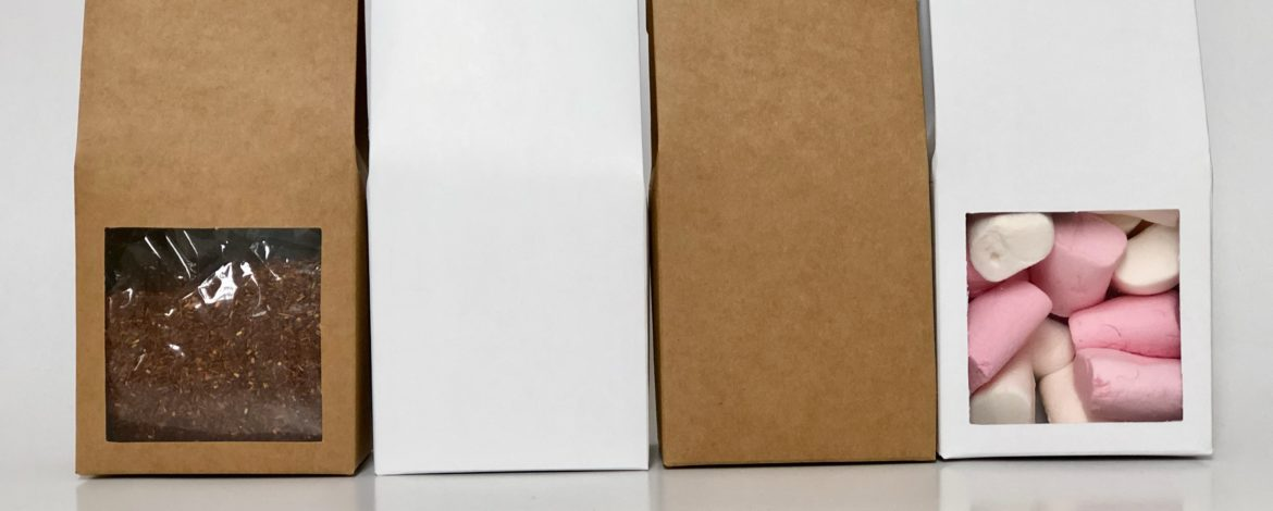 New Product Alert – The White Coffee Box with Window