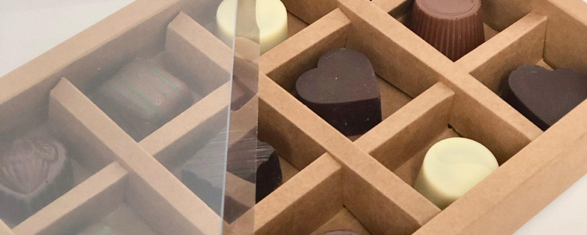 Chocolate Box inserts – our newest addition!